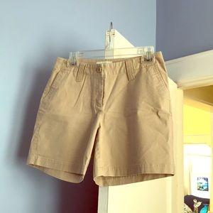 Talbots Khaki Shorts 4 Petite 🔥